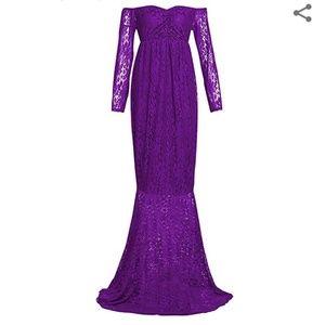 Dresses & Skirts - Maternity lace dress